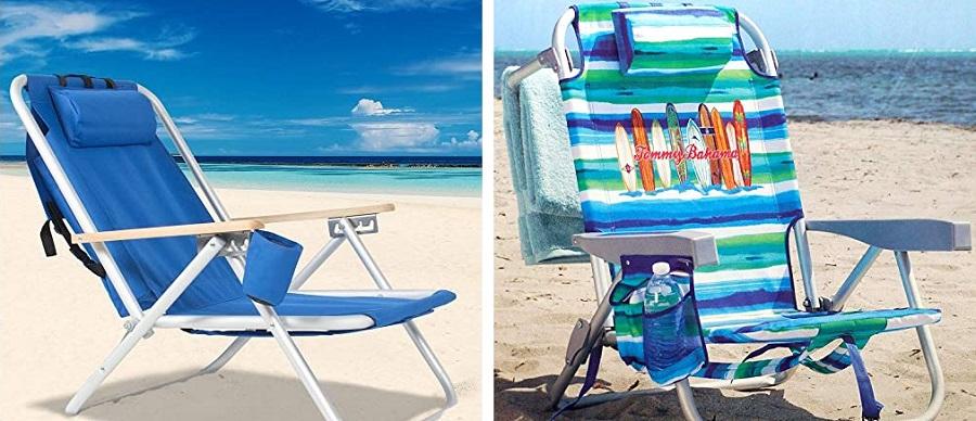 reclining beach chair