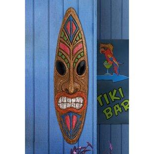KaHekiliThunderGodTikiWallDE9cor28Setof229 Tiki Bar Ideas & Tiki Bar Decorations