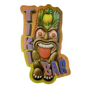 Large3DTikiBarLoungeMetalBeachPoolPartyLuauHomeWallDE9cor Tiki Bar Ideas & Tiki Bar Decorations