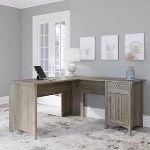 SalinaL-ShapeDesk Coastal Office Desks & Beach Office Desks