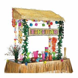 SummerLuauTikiBarHut Tiki Bar Ideas & Tiki Bar Decorations