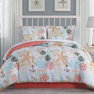Twin Beach Comforters & Twin Coastal Comforters