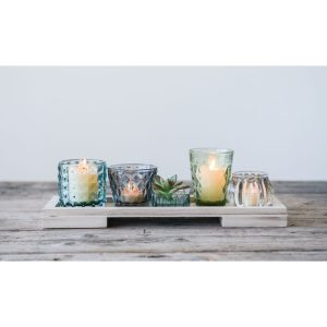 6+Piece+Small+Glass+Votive+Holder+Set
