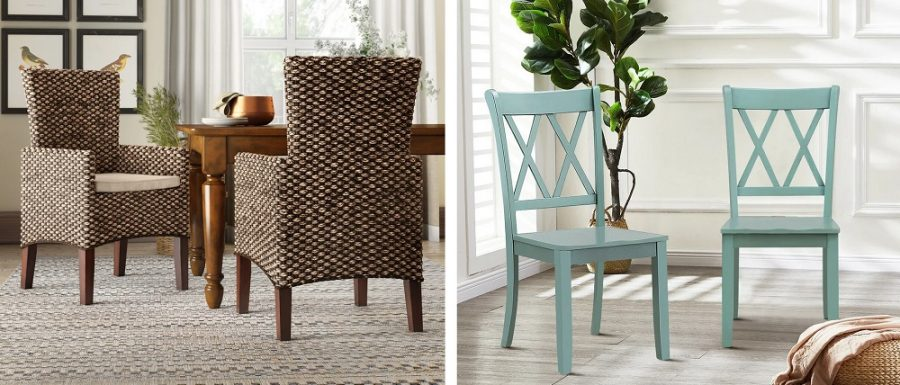 coastal dining room accent chairs