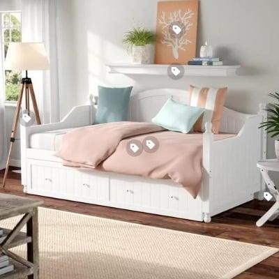 12-beach-bedroom-inspiration Beach Bedroom Decor & Coastal Bedroom Decor