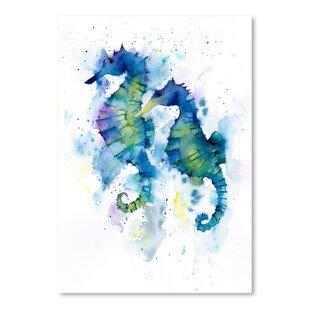 27Seahorses27Print Seahorse Wall Art & Seahorse Wall Decor