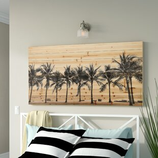 27SolitaryBeach27PhotographicPrintonWood Beach Wall Decor & Coastal Wall Decor