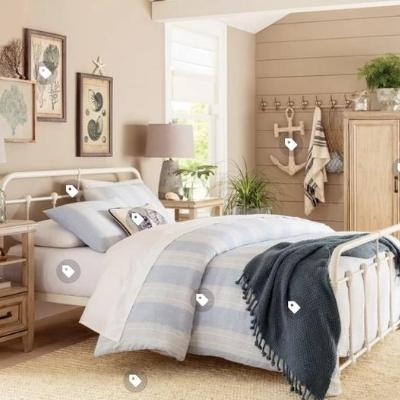 8-beach-style-bedroom Beach Bedroom Decor & Coastal Bedroom Decor