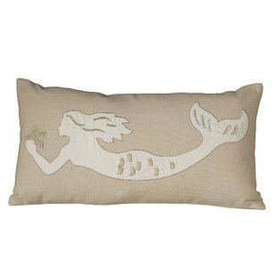 AmesburyMermaidEmbellishedPillowCover Mermaid Home Decor