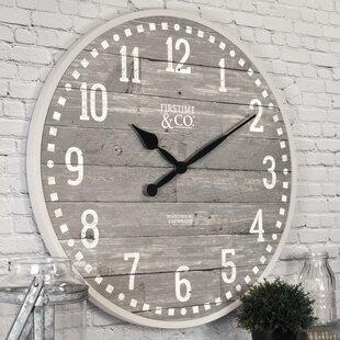 Arlo2022WallClock Coastal Wall Clocks & Beach Wall Clocks
