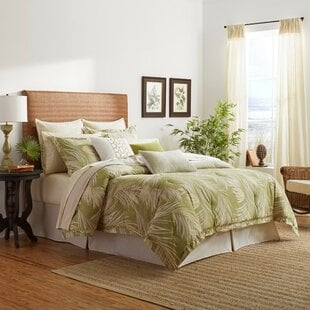 CanyonPalmsSingleReversibleComforter Palm Tree Bedding Sets & Comforters & Quilts
