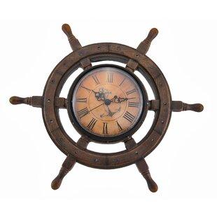 Charlton4.522WallClock Coastal Wall Clocks & Beach Wall Clocks