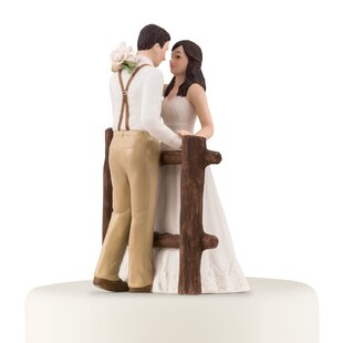 CoupleCakeTopper Beach Wedding Cake Toppers & Nautical Cake Toppers