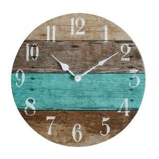 Dollison13.7822WallClock Coastal Wall Clocks & Beach Wall Clocks