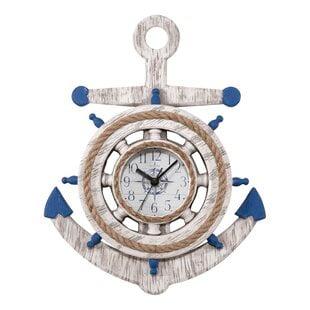 DominikaWallClock Coastal Wall Clocks & Beach Wall Clocks
