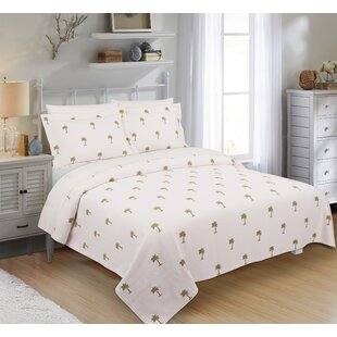 DutrathePalmSingleCoverlet Palm Tree Bedding Sets & Comforters & Quilts
