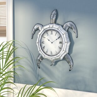 ErlandsonWallClock Coastal Wall Clocks & Beach Wall Clocks