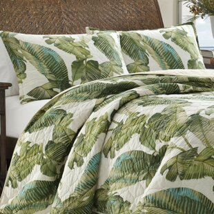 FiestaPalmsCottonReversibleQuiltSet Palm Tree Bedding Sets, Comforters, Quilts & Duvet Covers