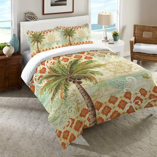 HelenSpicePalmComforter Palm Tree Bedding Sets, Comforters, Quilts & Duvet Covers