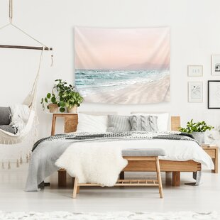 HopeBainbridgeBeachVibesVITapestry Beach Wall Decor & Coastal Wall Decor