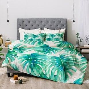 JacquelineMaldonadoParadisePalmsComforter Palm Tree Bedding Sets & Comforters & Quilts