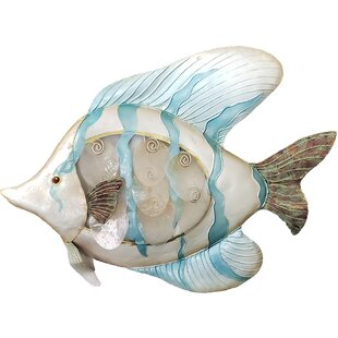 MetalandCapizArtSeasideTropicalFishWallDE9cor Beach Wall Decor & Coastal Wall Decor
