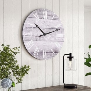 OversizedChaidez3022WallClock Coastal Wall Clocks & Beach Wall Clocks