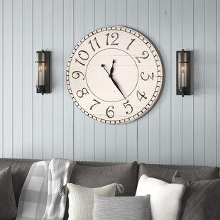OversizedWallClock Coastal Wall Clocks & Beach Wall Clocks
