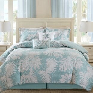 PalmGroveComforterSet Palm Tree Bedding Sets, Comforters, Quilts & Duvet Covers