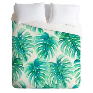 ParadisePalmsDuvetCoverSet Palm Tree Bedding Sets & Comforters & Quilts