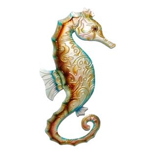 SeahorseWallDE9cor Beach Wall Decor & Coastal Wall Decor