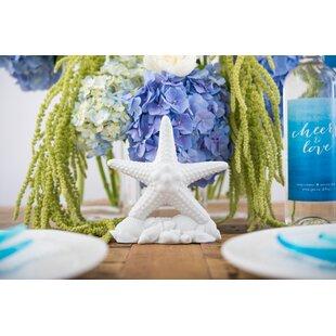 StarfishBeachFigurineCakeTopper Beach Wedding Cake Toppers & Nautical Cake Toppers
