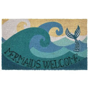 WaltonBayMermaidsWelcomeNon-SlipOutdoorDoorMat Mermaid Home Decor