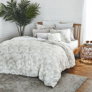 WatercolorPalmsComforterSet Palm Tree Bedding Sets & Comforters & Quilts