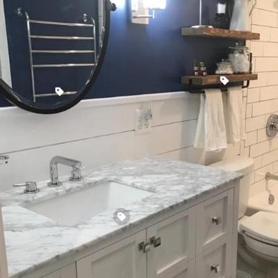 beach-bathroom-1 Beach Bathroom Decor & Coastal Bathroom Decor