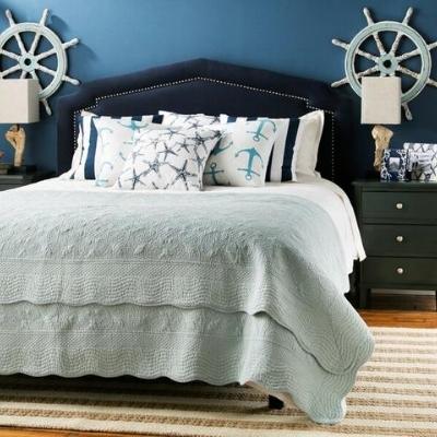 beach-bedroom-idea-10-1 Beach Bedroom Decor & Coastal Bedroom Decor