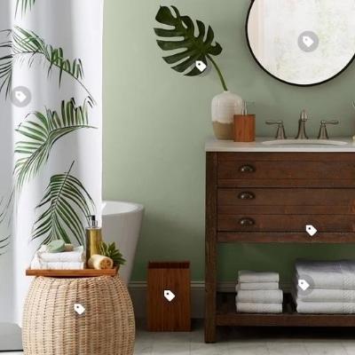 beach-design-bathroom-8 Beach Bathroom Decor & Coastal Bathroom Decor
