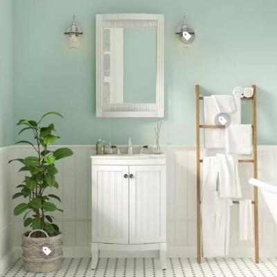 beach-style-bathroom-10 Beach Bathroom Decor & Coastal Bathroom Decor