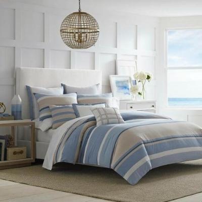 beach-style-bedding-set-18 Beach Bedroom Decor & Coastal Bedroom Decor