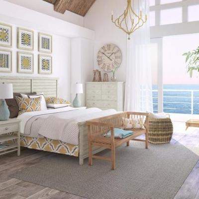 beach-style-bedroom-4 Beach Bedroom Decor & Coastal Bedroom Decor
