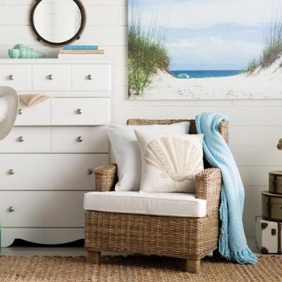beach-themed-bedroom-7 Beach Bedroom Decor & Coastal Bedroom Decor