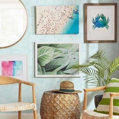beach-wall-decorations-12 Beach Wall Decor & Coastal Wall Decor