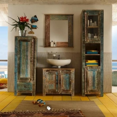 beachfront-bathroom-17 Beach Bathroom Decor & Coastal Bathroom Decor