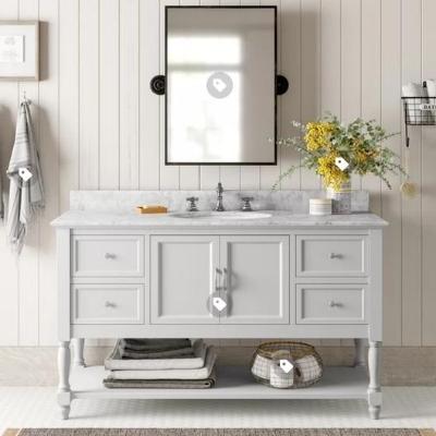 beachy-bathroom-7 Beach Bathroom Decor & Coastal Bathroom Decor