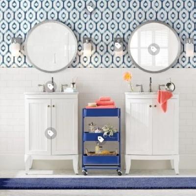 coastal-bathroom-decor-4 Beach Bathroom Decor & Coastal Bathroom Decor