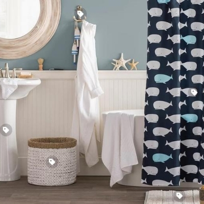 coastal-kids-bathroom-20 Beach Bathroom Decor & Coastal Bathroom Decor