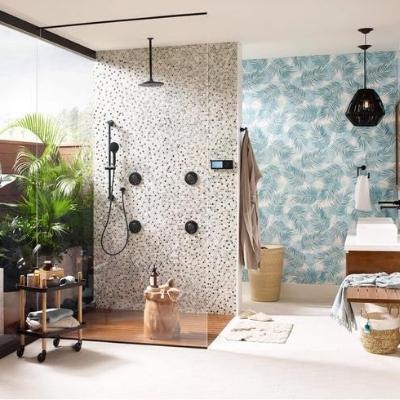 coastal-style-bathroom-11 Beach Bathroom Decor & Coastal Bathroom Decor