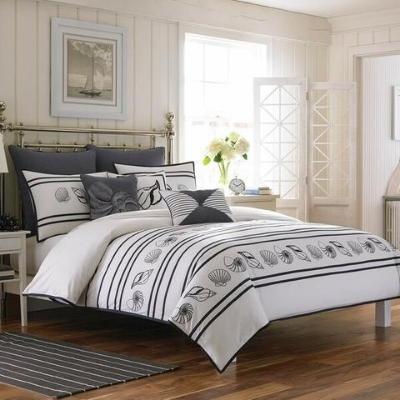 seashell-bedding-12 Beach Bedroom Decor & Coastal Bedroom Decor