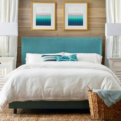 white-beach-bedroom-2 Beach Bedroom Decor & Coastal Bedroom Decor