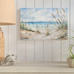 27CoastalLandscape27byTreSorelleStudios-WrappedCanvasPrint 100 Beach House Decor Ideas